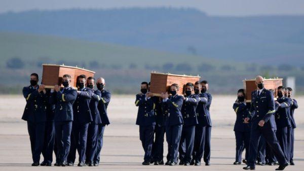 Bodies of 3 Europeans killed in Burkina Faso arrive in Spain