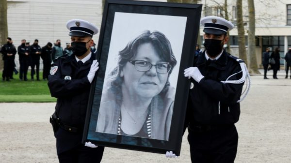 France honours woman killed in terror attack against police
