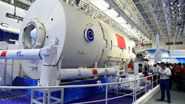 China prepares to launch rocket carrying space station supplies