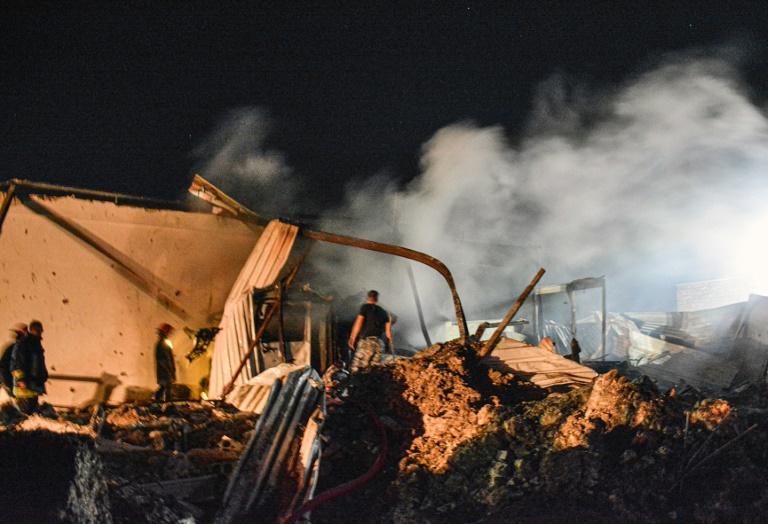 Israeli air strikes hit southern Syria: state media