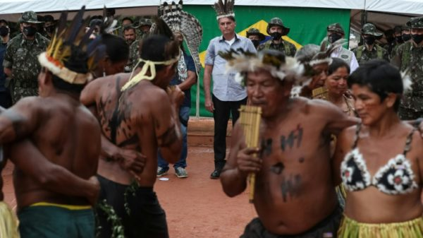 Brazil leader promises Yanomami no unwanted mining on their lands