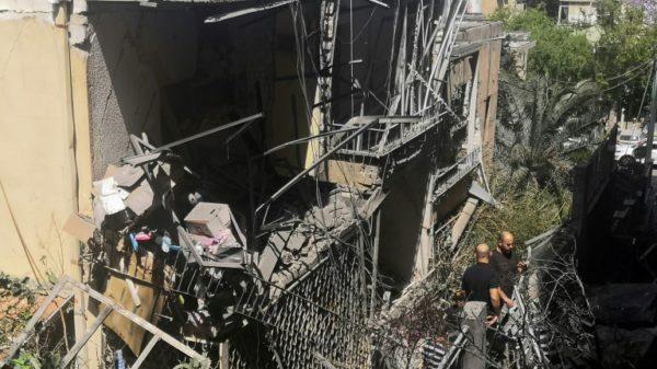 Rockets and fear descend on Tel Aviv