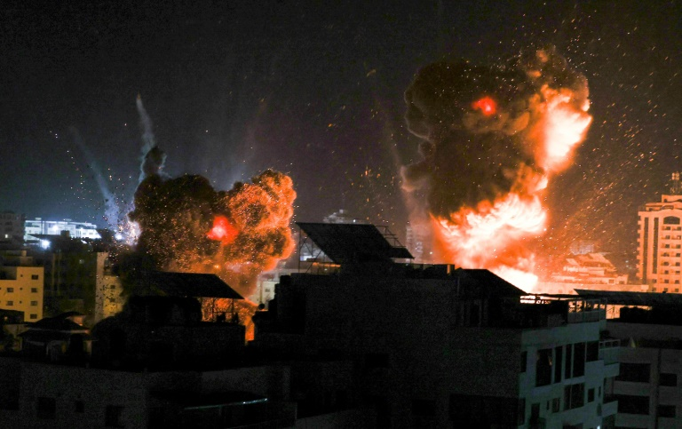 No respite in Gaza from Israeli strikes, as diplomatic efforts intensify