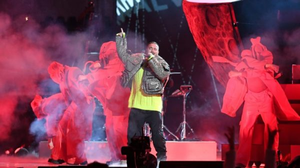 J Balvin, a superstar grappling with fame's social responsibility