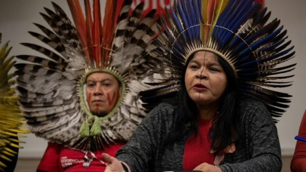 Indigenous activist in Brazil says accused of 'slandering' Bolsonaro