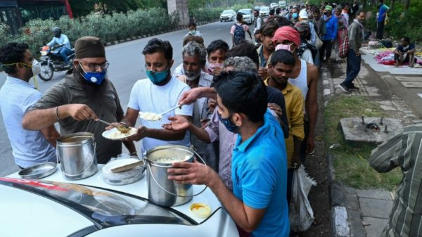 Hunger stalks India's poor in pandemic double blow