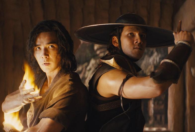 Ludi Lin and Max Huang in 'Mortal Kombat'