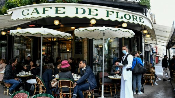 French cafes reopen as EU says will allow vaccinated travellers