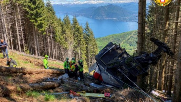 Five Israelis among 14 killed in Italian cable car accident