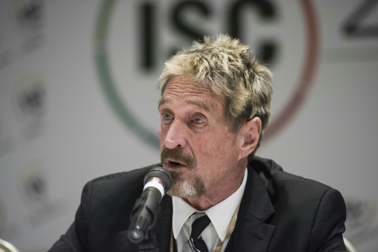 McAfee founder found dead by suicide in Spanish jail