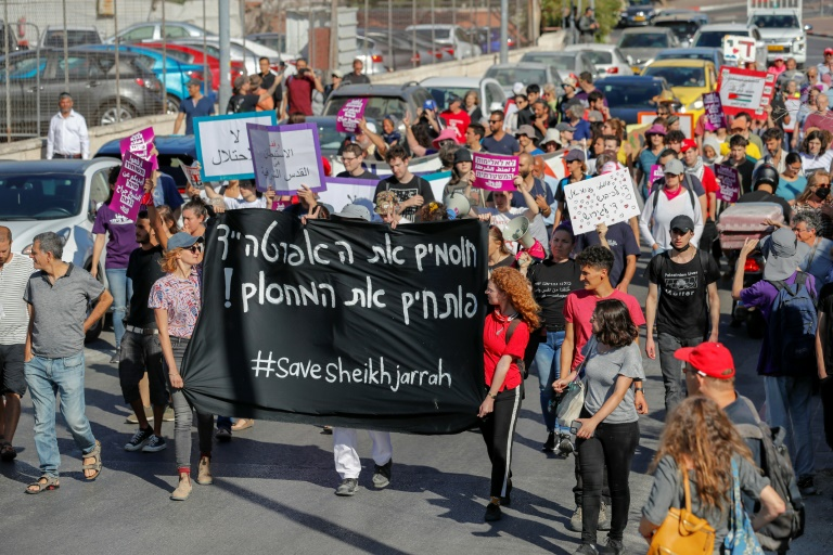 #SheikhJarrah: from Jerusalem neighbourhood to global hashtag