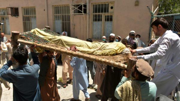 Five Afghan polio vaccinators shot dead