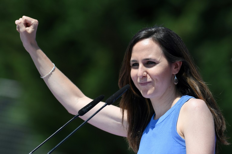 Spain's Podemos elects Belarra as new chief