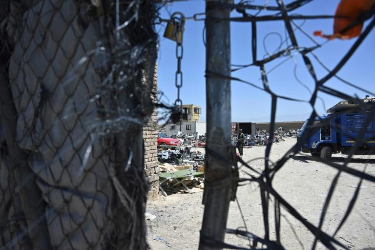 Junkyard of empires: Afghans sift through leftovers of US occupation