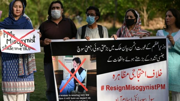 Rights groups outraged over Pakistan PM's rape comments