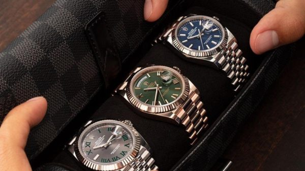 Watch Trading Company specializes in luxury watches.