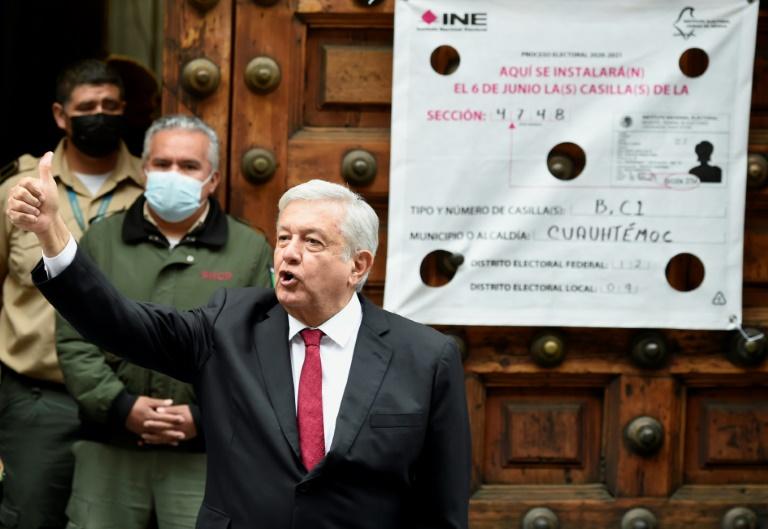 Mexico president suffers setback in legislative elections