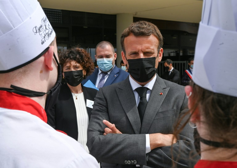 Macron slapped during trip to southeast France