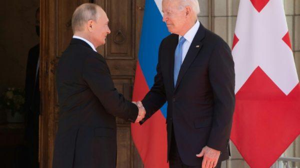 Biden, Putin handshake kicks off Geneva summit