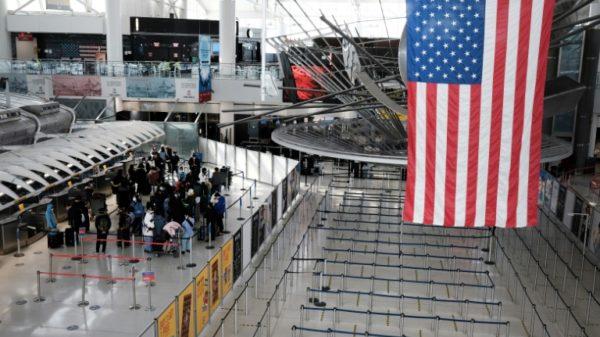 Business group urges Biden to lift Europe travel ban, revive economies