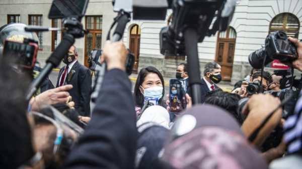 Peru vote review in turmoil after judge quits