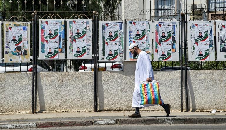 Algerians to elect parliament amid 'repression' of protest movement