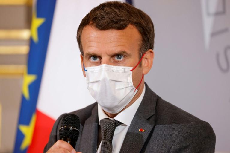 Macron to announce Sahel troop cut: sources
