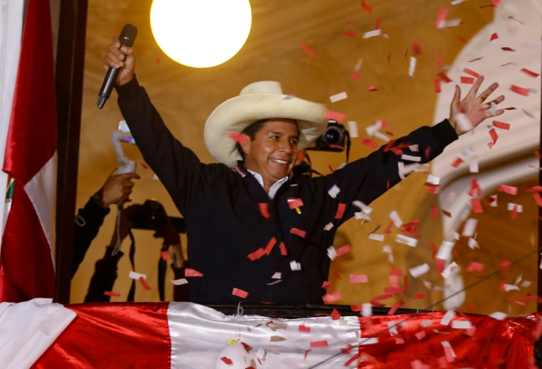 As Peru vote count continues, leftist Castillo assumes 'victory'