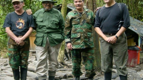 Colombian guerrilla leader steps down due to illness