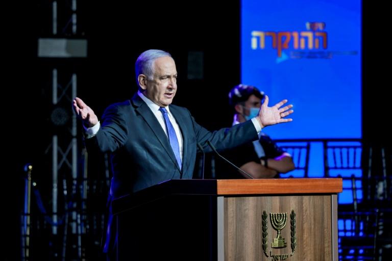 Israel awaits parliament vote that could end Netanyahu era