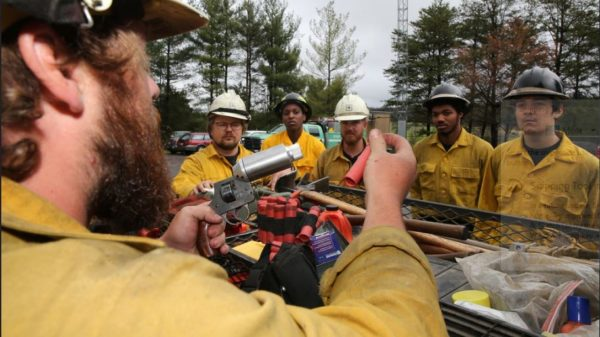 Biden raises federal firefighter pay to $15 an hour as West braces for wildfires