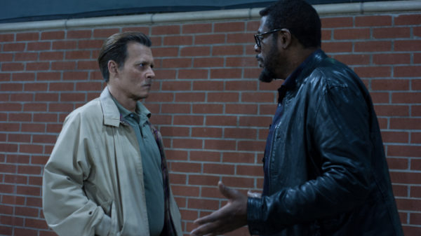 Johnny Depp and Forest Whitaker in 'City of Lies'