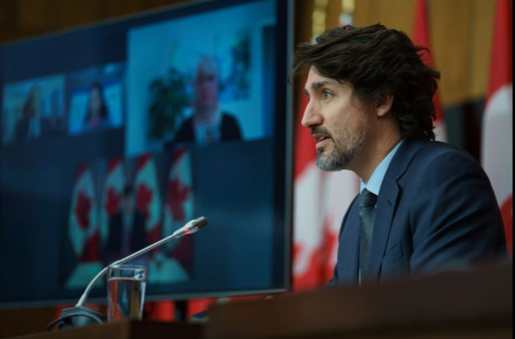 Trudeau says Canada won't rush to reopen border with the United States