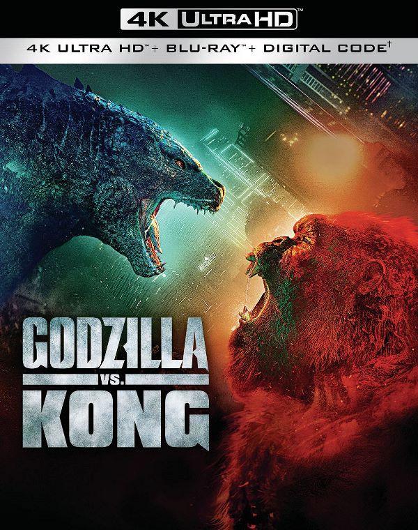 Godzilla vs. Kong on 4K Ultra HD & Blu-ray