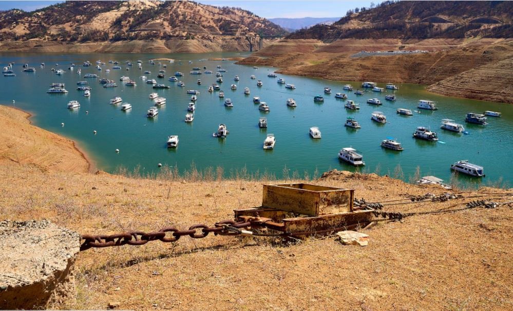 California's linchpin reservoir expected to reach a record low water level this summer