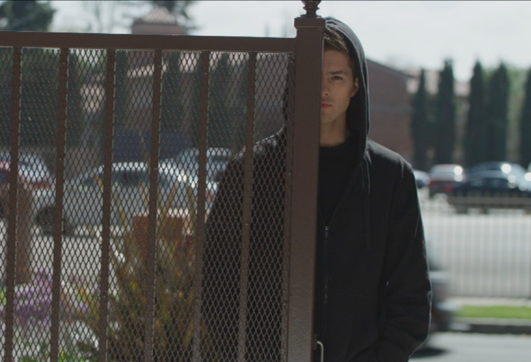Travis Burns in 'The Wrong Boy Next Door'