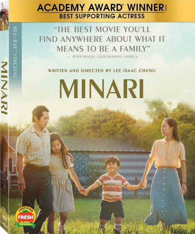 Minari on Blu-ray