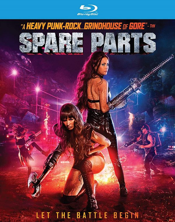 Spare Parts on Blu-ray