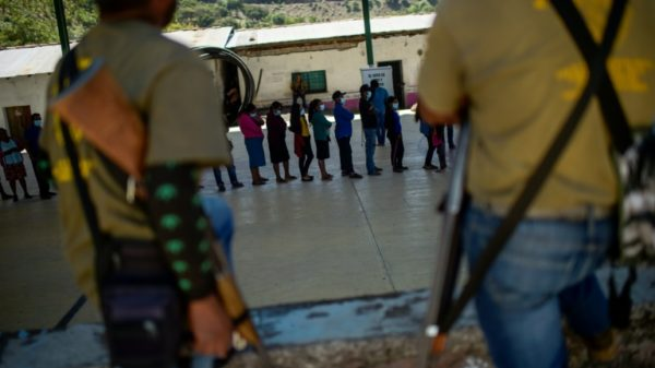 Election day tensions high in Mexico cartel heartland