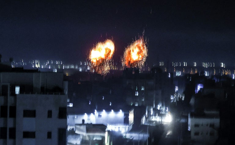 Israel says hit by more 'arson balloons' after striking Gaza