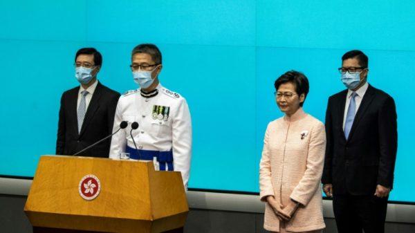 Hong Kong police chief calls for fake news law