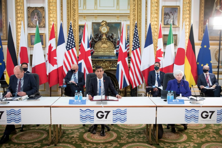 Hopes for 'historic' global corporate tax deal as G7 meets