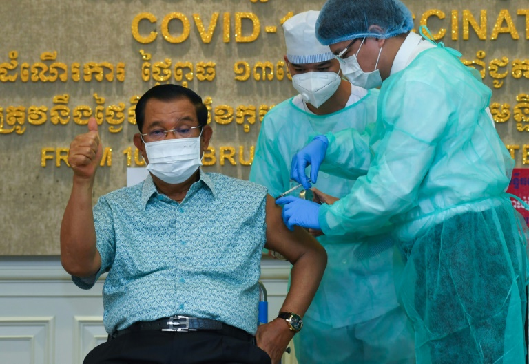 Cambodian PM in quarantine, cancels meeting with UK's Raab
