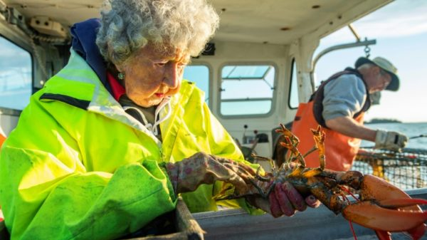 Maine's 'Lobster Lady' -- 101 and going strong