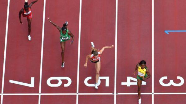 Cruising Fraser-Pryce kicks off fan-less Olympic athletics