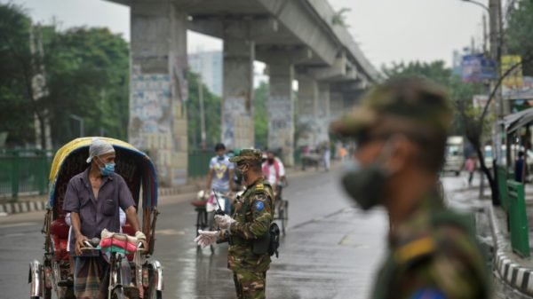 Bangladesh locks down as infections in Europe rise again