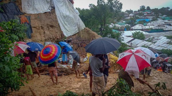 Bangladesh evacuates 10,000 Rohingya from landslide-hit camps