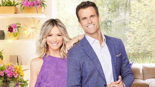 Debbie Matenopoulos and Cameron Mathison
