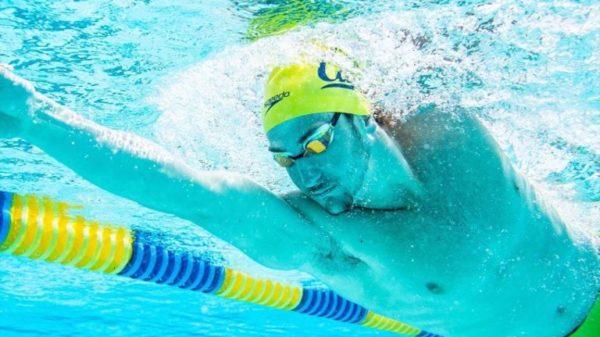 Swimmer Ryan Hoffer