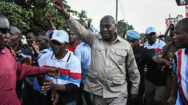 Leader of Tanzanian opposition party charged with terrorism